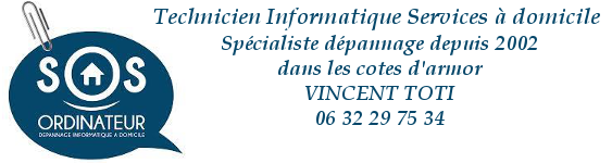 Arcouest informatique MAC et PC Vincent TOTI 06 32 29 75 34